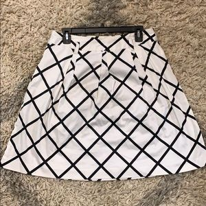 INC Sleek A-line Skirt Size 8